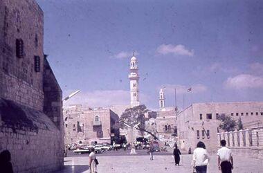 Dia Bethlehem Platz vor Rathaus