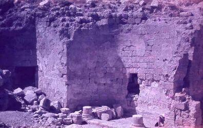 Dia Dsch. Ferdes Ausgrabungen [Herodium]
