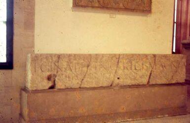 Dia Beiru Mus. Inschr. Her. Agr. II 1. Jhd. v. Chr.