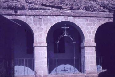 Dia M. Saba Felsen-Kapelle S. Nikolaus [Mar Saba]