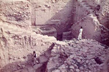 Dia Alt-Jericho Ausgrabungen