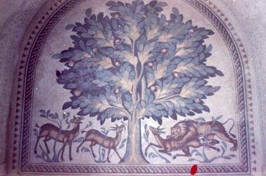 Dia Jericho Ch. Mefdschir Mosaik 8. Jhd.