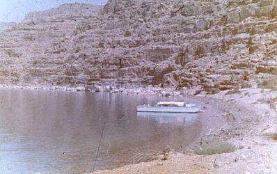 Dia Landestelle bei Arnon-Mündung