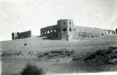 Dia Burg Antipatris Herodes + Kreuzfahrer