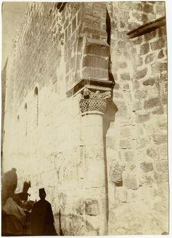 Fotografie Am Südhof der Grabeskirche [Jerusalem]
