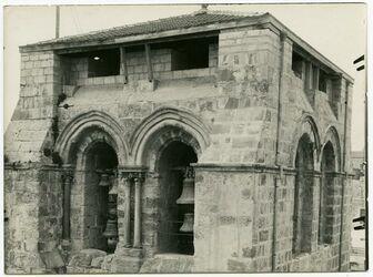 Fotografie Glockenturm von NO (vom Dach der Grabeskirche) [Jerusalem]