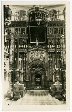 Postkarte [Grabeskirche, Jerusalem]
