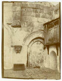 Fotografie Chorumgang der Grabeskirche [Jerusalem]