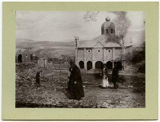 Fotografie Griech. unierte Kirche in Gededi (Merg
