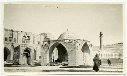 Fotografie haram [Tempelberg, Jerusalem]