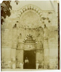 Fotografie Jerusalem, haram, Bab el-Kaltanin
