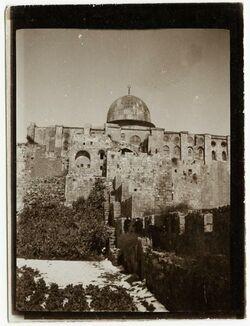 Fotografie aksa von S [Jerusalem]