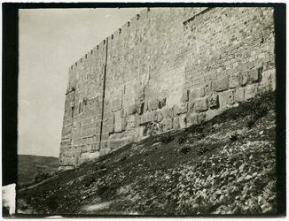 Fotografie Südostecke der Tempelmauer [Jerusalem]