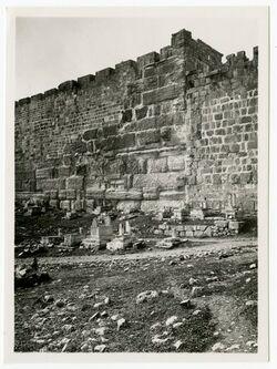 Fotografie NOecke des harane Jerusalem Jerusalem