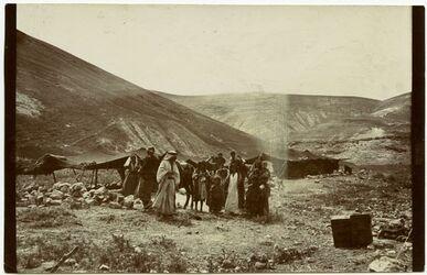 Fotografie Araberlager der
