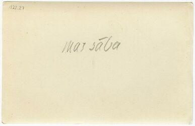 GDIp04132; Fotografie; mar saba, in Bestand von rund 5.000 nach Themen und Orten sortierten Kleinbildabzügen