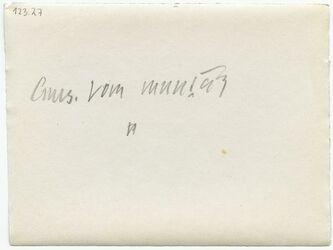 GDIp04180; Fotografie; Auss. vom muntar, in Bestand von rund 5.000 nach Themen und Orten sortierten Kleinbildabzügen