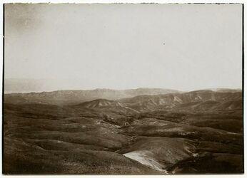 Fotografie Blick vom gebel el-muntar [el muntar] nach S