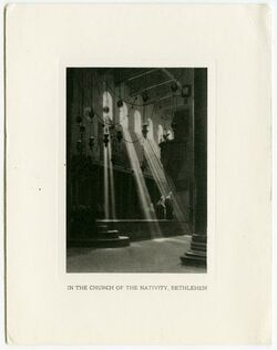 Fotografie In the church of the nativity, Bethlehem