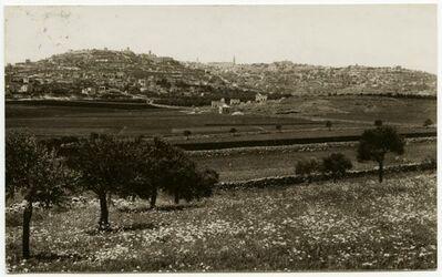 Postkarte Bethlehem and the Shepherd