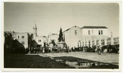 Fotografie Bethlehem, Serai