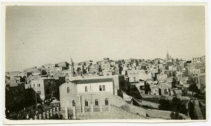 Fotografie Alt-Bethlehem vom Lat. Kloster