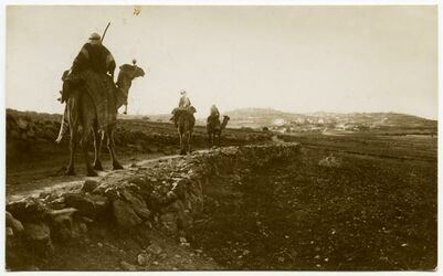 Fotografie Im Hintergrund Bethlehem