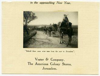 Postkarte [Bethlehem]
