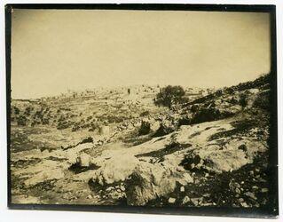 Fotografie Bethlehem v. Süd