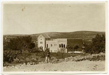 Fotografie Schwed. Hospital in Bethlehem v. N. O.