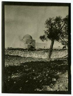 Fotografie Rahel [Grab der Rahel, bei Bethlehem]