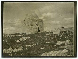 Fotografie Rahes Grab [bei Bethlehem]