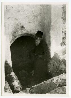 Fotografie Davids Brunnen in Bethlehem