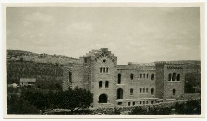 Fotografie Schw. Hospital Bethl. [Schwedisches Hospital Bethlehem]