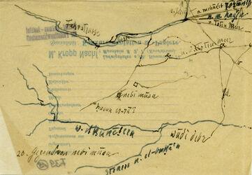 Karte Gegend nebi musa [En-Nebi Musa (Berg)], wadi debr