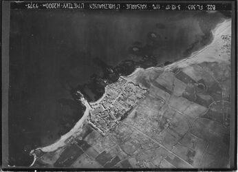 Fotografie Kaisarije CäsareaUBR NW Südstrecke der anticken Stadt fehlt aber sichtbar nordöstl. U. nördl. Stadtmauer ob ein [?]