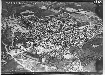 Fotografie Gaza von derselben Seite wie 1384 [GDIp00761] von NO l. Nordstadt quer Str. nach dem Hafen