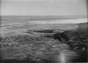 Fotografie Jericho plain + the Death sea