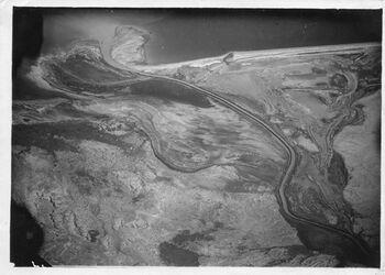 Fotografie Jordan-Mündung ins Tale Mur