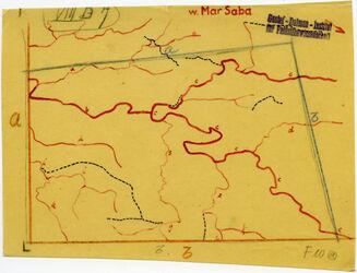 Karte Mar Saba