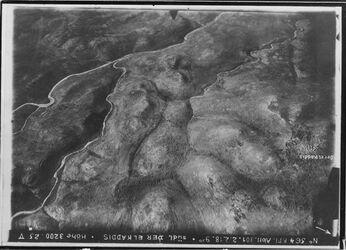 Fotografie südl. Der el Kaddis [Deir Qaddis] wadi malaki mit Einlauf des w. sohami UBR SW Anschluss an 544 [GDIp00538] ob r. nach o. belin ?