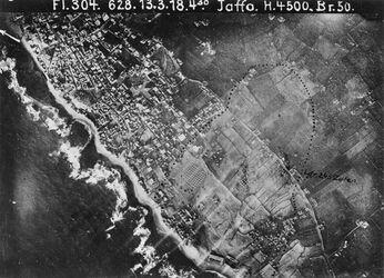 Fotografie Jaffa [Tel Aviv] Südteil v. Jaffa Anschluss an 88 oben r. 4 1/2cm [GDIp00707]