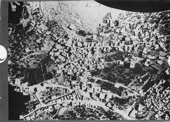 Fotografie Hebron Stadtteil gegenüber er-rumide (unten) D