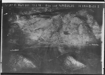 Fotografie 8 km südl. Nablus