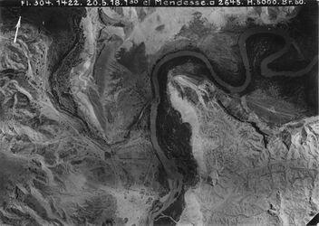 Fotografie el Mendesse [el-Mendesse (Jordanfurt)] Teil von Fl. 303 Nr.1107 [GDIp00939] Mündung v.w. mellaha [El-mellaha] in den Jordan