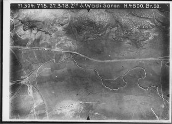 Fotografie ö. Wadi Sarar [Wadi es Sarar Fluss] östl. vom Bahnhof kein unmittelbarer Anschluss an 386 [GDIp00220]