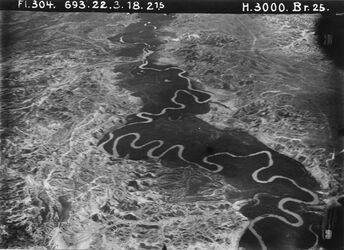 Fotografie von mellaha Mündung nördl. III [El-mellaha] = Mitte von 1082 [GDIp00942] zw. Umm essert u. w. iskeraza [?]