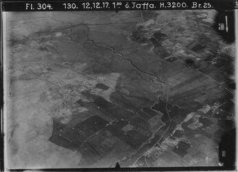 Fotografie ö. Jaffa [Tel Aviv] l. silme [Selma?], ibn ibrak, r. mikwe Jisrael, jazur n. sakie IV