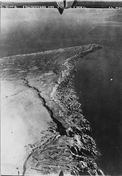 Fotografie Halbinsel im Toten Meer Südkap Halbinsel Nordkap v.S. Vergrösserung von Nr. 33 [GDIp00860] Gegensatz Ostufer