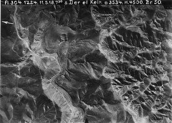 Fotografie s. Der el Kelt [Choziba (Kloster im Wadi kelt)] Teil v. 895 [GDIp00142] ähnl. 899 [GDIp00139] ähnlich 9d nur mehr südl. Gelände